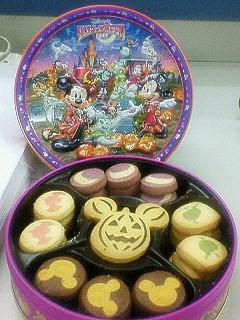 ハロウィーンクッキーく(^.^)<br />  ノ